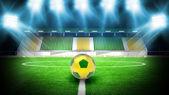 Soccer stadium night — Foto Stock