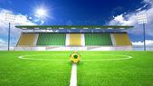 Soccer stadium — Stock Photo