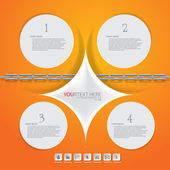 Circle infographic — Stock Vector