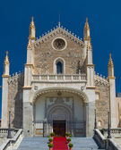 St. Jerome Royal Church in Madrid — Stock Photo