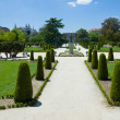 The Buen Retiro Park in Madrid — Stock Photo