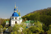 Famous churches of Kiev — Stock Photo