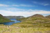 Vista estiva di magerøya — Foto Stock