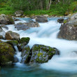 Waterfall at long shutter speed — Stock Photo