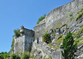Medieval fortress of Lourdes — Stock Photo