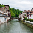 Постер, плакат: Basque town in the French Pyrenees