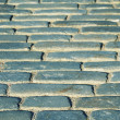 Pavestones of old block pavement — Stock Photo