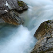 Постер, плакат: Close up of the water stream at long shutter speed