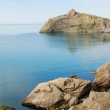 Pointed cape Kapchik on the Crimean coast. — Stock Photo