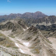 Stock Photo: Panoramof Pyrenees mountains.