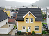 Nordic town Tromso in summer — Foto de Stock
