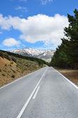 Spanish mountain road — Stock Photo
