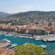 Cityscape of Nice, view from above — Stock Photo