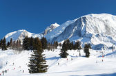 Chamonix ski resort — 图库照片