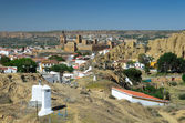 Spring view of Guadix — Stock Photo