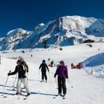 Chamonix ski resort — Stock Photo
