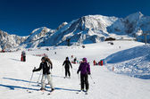 Chamonix ski resort — Stock Photo