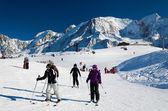 Chamonix ski resort — 图库照片