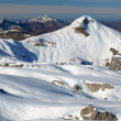 Mountain Arles of the Atlantic Pyrenees in winter — Stock Photo