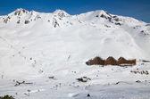 Ski resort in the winter Pyrenees — ストック写真