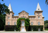 The colonial mansion of the Sama Park in Tarragona — Stock Photo