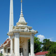 Buddhist temple in the Thai town Sakon Nakhon — Stock Photo
