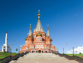 Saint Michael's Cathedral in Izhevsk — Foto de Stock