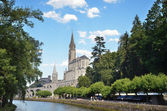 Shrines of Lourdes — Stock Photo