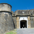 Stock fotografie: Medieval entrance of French fortified town