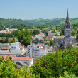 Summer view of Lourdes — Stock Photo #37676323