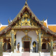 Facade of Buddhist temple in Thailand — Stock Photo