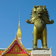 Entrance of Buddhist temple in Thailand — Stock Photo #38132851