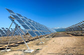 Güneş enerjisi santrali i̇spanya — Stok fotoğraf