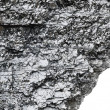 Stock Photo: Piece of bituminous coal with sharp edge