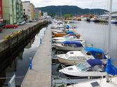 Trondheim anzeigen. — Stockfoto