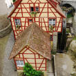 Fachwerk house in the European town. — Stock Photo