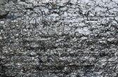 Close-up da superfície de carvão fóssil preto — Foto Stock