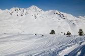 在春天滑雪比利牛斯 — 图库照片