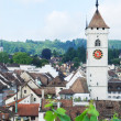 Stock Photo: Summer view of Schaffhausen.