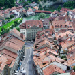 View of Fribourg from above — Stock Photo