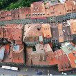Old city of Fribourg from above. — Stock Photo #40749411