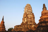 Ancient Wat Ratchaburana. — ストック写真
