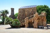 Casa Sama Park in Spain — Stock Photo