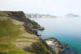 Steep shore of Soroya in summer. — ストック写真