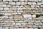 Stone background of old masonry — Stock Photo