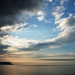 Early morning sky over the sea — Stock Photo