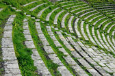 Theatron of the ancient Greek theater — Stock Photo