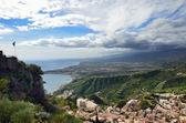 East Sicilian coast — Stock Photo