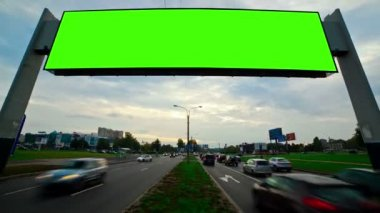 Billboard green screen — 图库视频影像