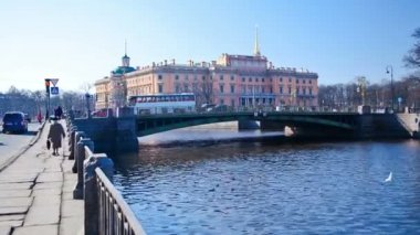 Bridges. St. Petersburg. Russia 3 — Stock Video